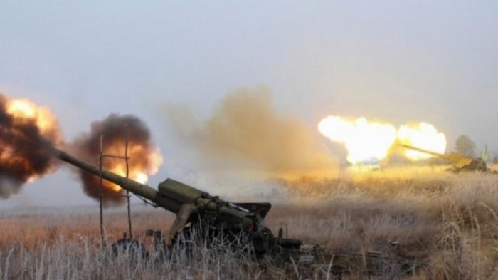 Война на Донбассе: ВСУ обстреливали из артиллерии, минометов и снайперских винтовок