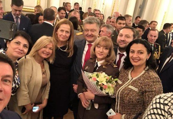 В Украине второй раз в истории звание генерала присвоили женщине