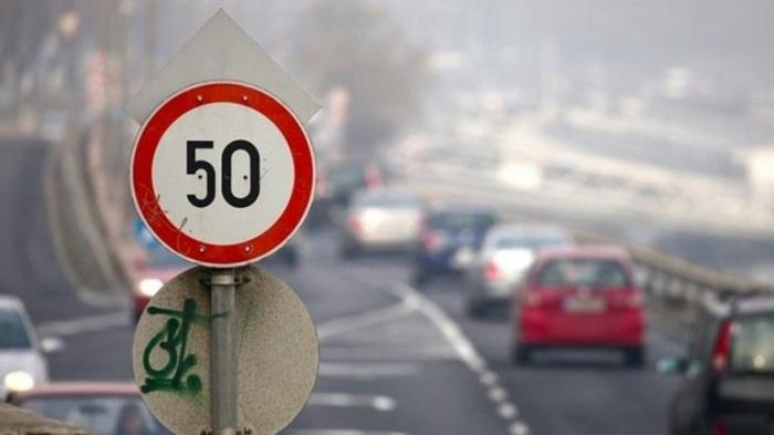 В Киеве возобновили ограничения скорости на зиму