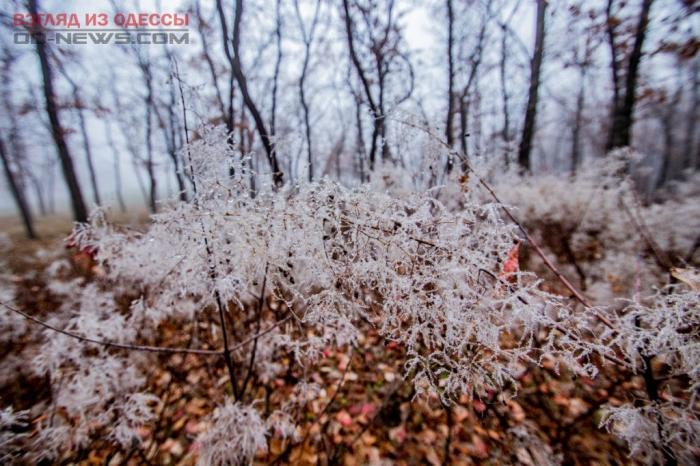 В Одессе наступает зимний сезон