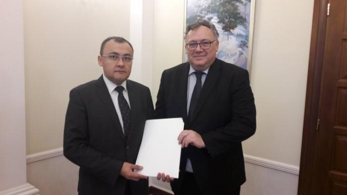 Новый посол Венгрии в Украине приступил к выполнению своих обязанностей