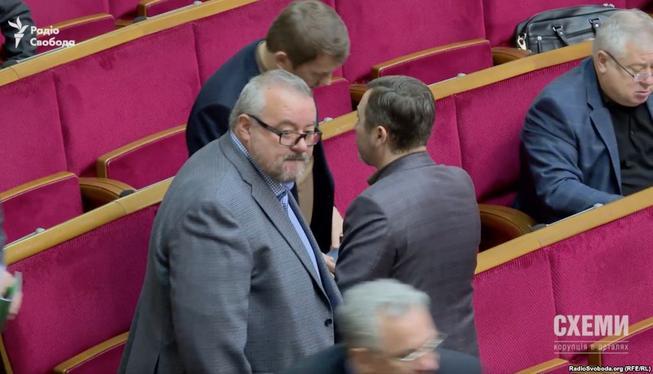 Луценко представил доказательства вины нардепа Березкина сразу по четырем статьям