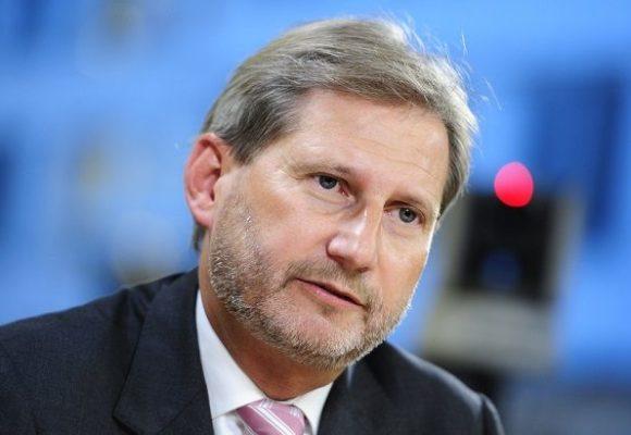 Еврокомиссар Хан огорчился невыполнением Украиной условий для получения 50 миллионов евро