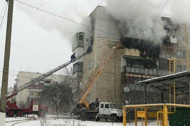 В жилом доме Одесской области из-за петард сгорели несколько квартир