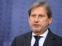 Еврокомиссар Хан призвал Россию освободить Сенцова на вручение премии Сахарова