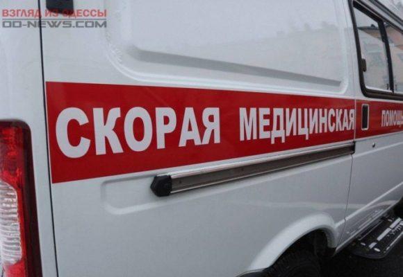 В Одесской области при аварии сильно деформировалось авто