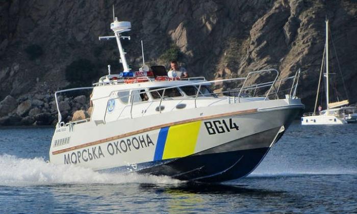В Азовском море пограничники получили новый катер