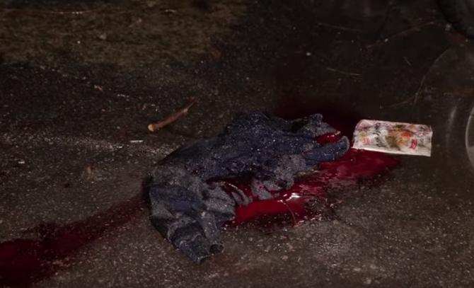 В Днепре голый водитель уходил от копов, врезался в стену и выстрелил себе в голову ВИДЕО