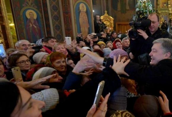 Туманные гастроли Порошенко: Томос-тур как импровизация от начала до конца