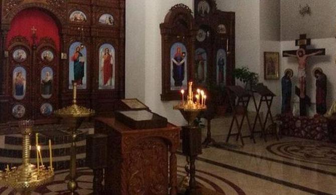 В Донецкой области из церкви украли мощи главного святого для русских