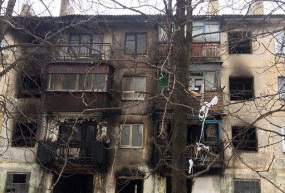 В доме Донецкой области взорвался газовый баллон: пострадали жильцы