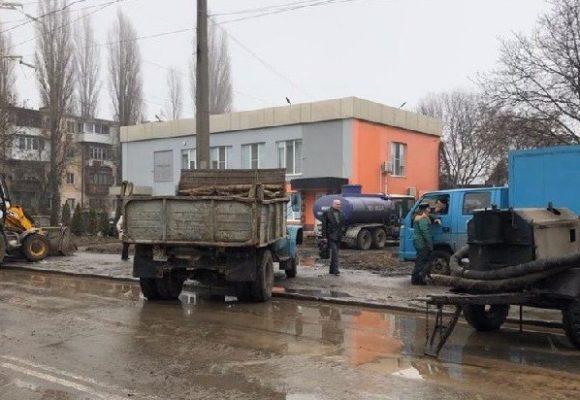 В Одессе половина города оказалась без воды